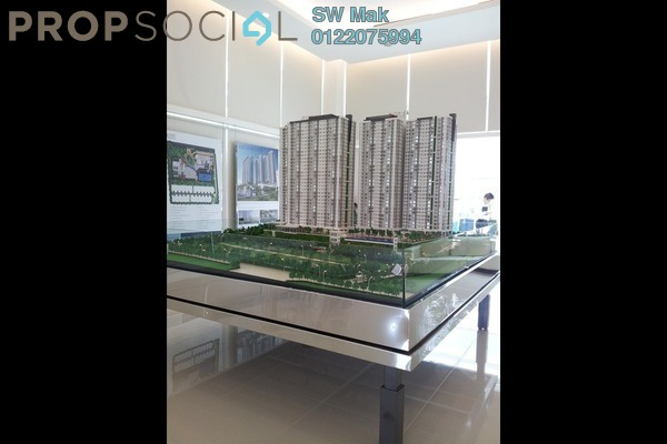 For Sale Condominium at Scenaria, Segambut Freehold Unfurnished 4R/0B 1.19m