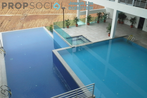 For Sale Condominium at Villa Orkid, Segambut Freehold Semi Furnished 4R/0B 690k