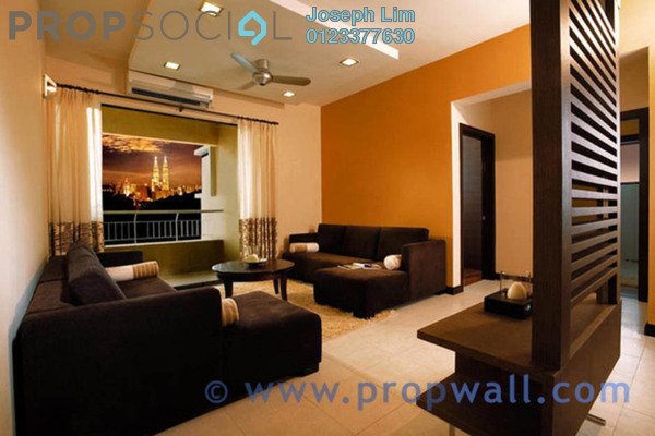 For Rent Condominium at Nadia, Desa ParkCity Freehold Semi Furnished 3R/2B 2.3k