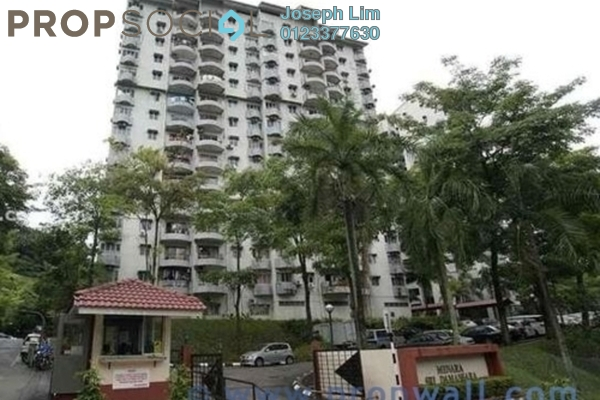 For Rent Condominium at Menara Damansara, Bandar Sri Damansara Freehold Semi Furnished 3R/0B 1.2k