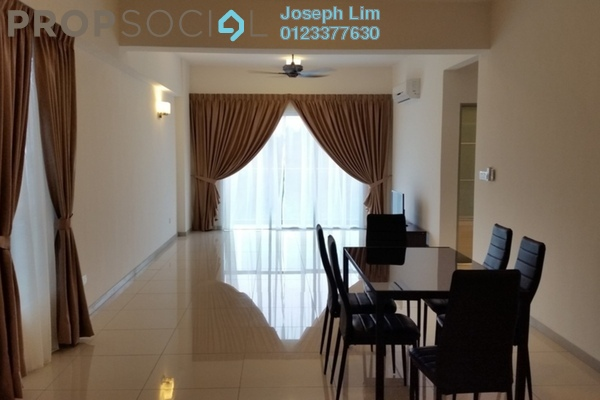For Rent Condominium at Villa Orkid, Segambut Freehold Semi Furnished 0R/0B 2.1k