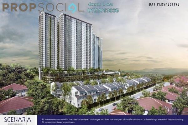For Sale Condominium at Scenaria, Segambut Freehold Unfurnished 4R/0B 720k