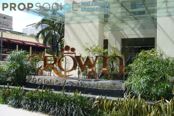 For Sale Condominium at Crown Regency, KLCC Freehold Unfurnished 3R/3B 1.08m