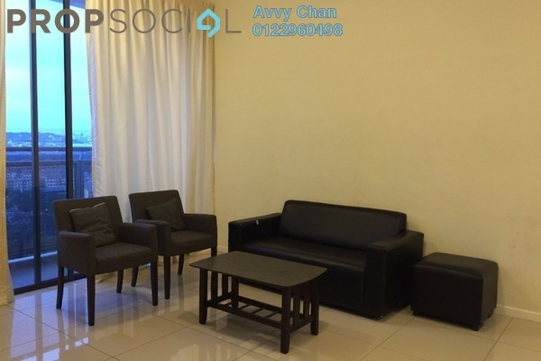 For Rent Condominium at KU Suites, Kemuning Utama Freehold Fully Furnished 3R/2B 2.3k