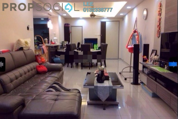 For Sale Condominium at The Maple, Sentul Freehold Unfurnished 1R/1B 373k