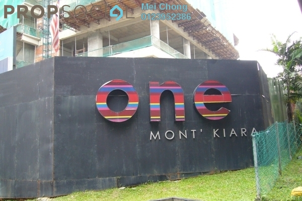 For Rent Office at One Mont Kiara, Mont Kiara Freehold Semi Furnished 0R/0B 5.95k
