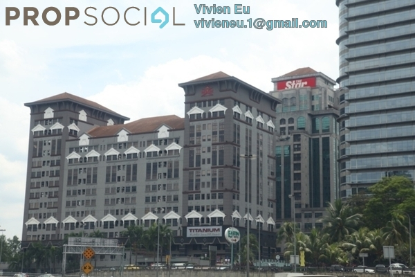 For Sale Office at Phileo Damansara 2, Petaling Jaya Freehold Semi Furnished 0R/0B 1.3m