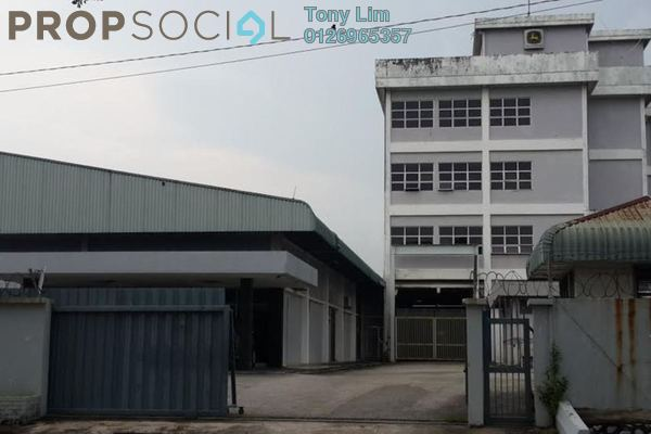 For Sale Factory at Section 16, Shah Alam Leasehold Unfurnished 0R/0B 15m