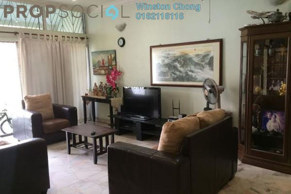 For Sale Terrace at Taman Bukit Maluri, Kepong Leasehold Semi Furnished 4R/0B 920k