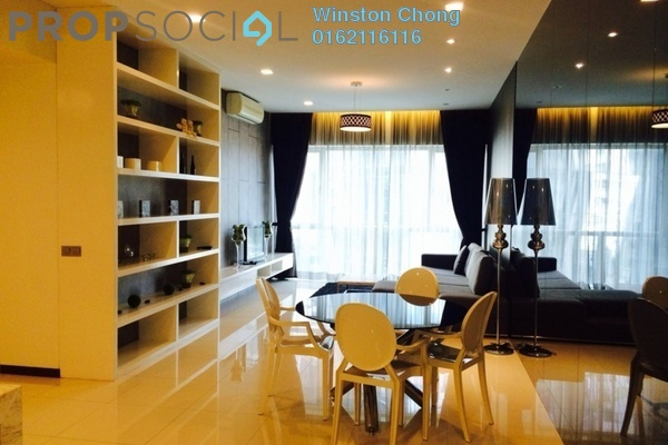 For Rent Condominium at Suasana Sentral Loft, KL Sentral Freehold Unfurnished 3R/3B 5.3k