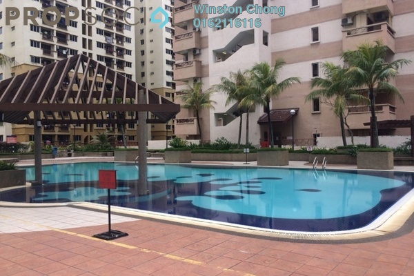 For Rent Condominium at Pelangi Damansara Sentral, Mutiara Damansara Leasehold Semi Furnished 3R/0B 1.2k