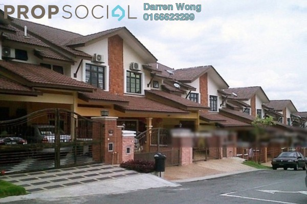 For Rent Terrace at Taman Segar Perdana, Cheras Leasehold Unfurnished 4R/3B 1.3k