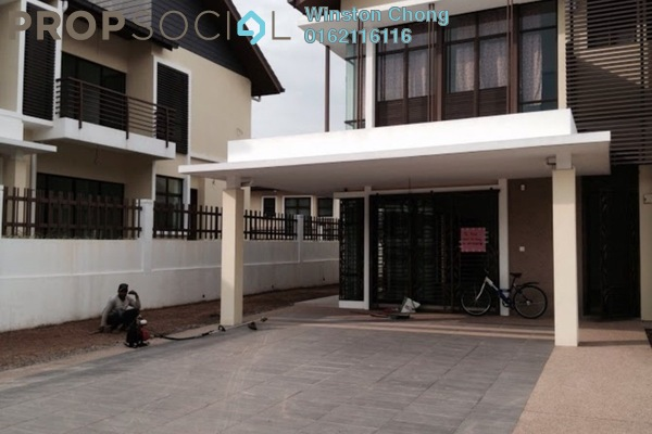 For Rent Semi-Detached at Subang Bestari, Subang Leasehold Semi Furnished 5R/5B 3.2k