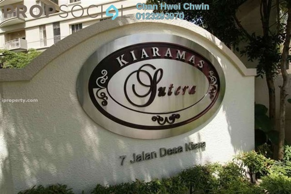 For Rent Condominium at Kiaramas Sutera, Mont Kiara Freehold Unfurnished 4R/3B 4k