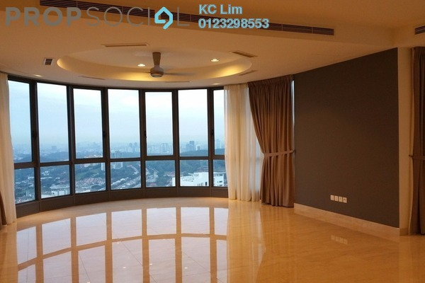 For Rent Condominium at 11 Mont Kiara, Mont Kiara Freehold Semi Furnished 4R/5B 9k