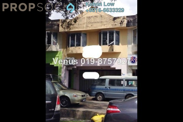 For Rent Shop at Taman Sri Sinar, Segambut Freehold  0R/0B 3.7k
