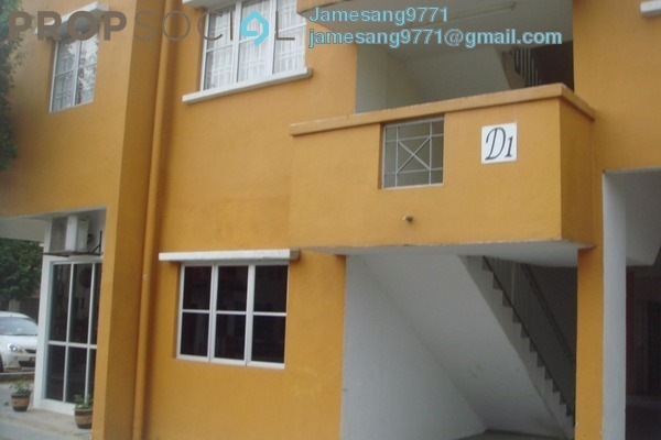 For Rent Apartment at Tainia Apartment, Kota Damansara Leasehold Unfurnished 3R/2B 1.2k