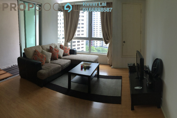 For Rent Serviced Residence at i-Zen Kiara I, Mont Kiara Freehold Fully Furnished 2R/2B 3.2k