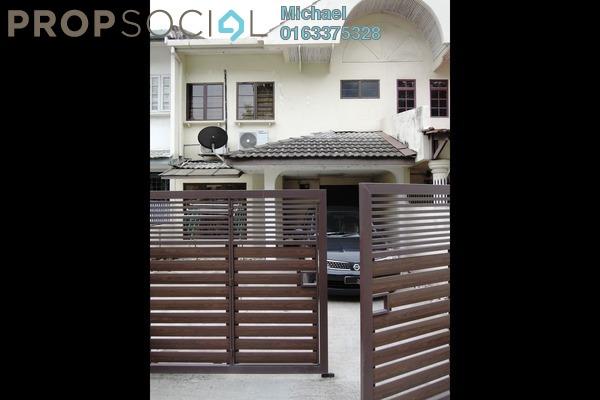 For Rent Terrace at Taman Megah Emas, Kelana Jaya Freehold Fully Furnished 3R/3B 2.2k