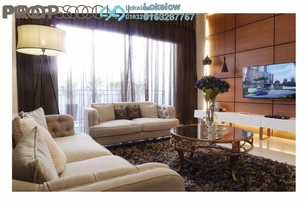 For Sale Condominium at Villa Crystal, Segambut Freehold Semi Furnished 4R/3B 874k