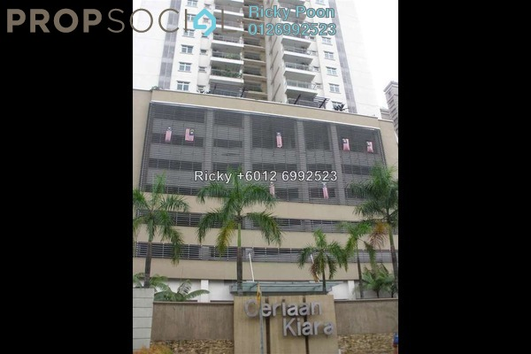 For Sale Condominium at Ceriaan Kiara, Mont Kiara Freehold Unfurnished 4R/4B 1.04m