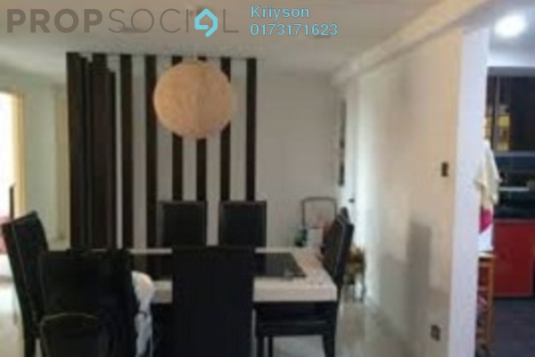 For Rent Condominium at Sri Jati II, Old Klang Road Freehold Fully Furnished 4R/2B 1.45k