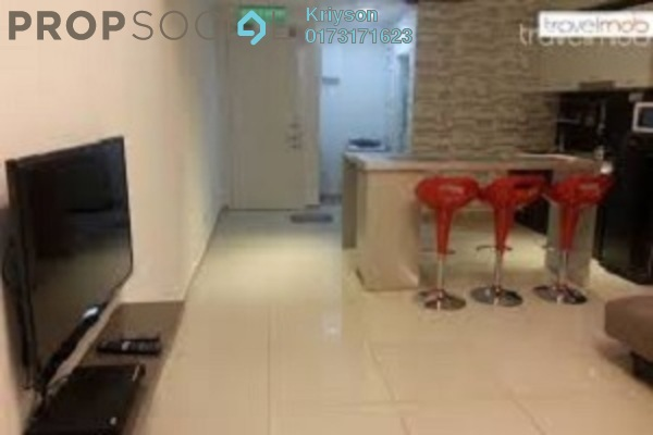 For Rent Condominium at The Scott Soho, Old Klang Road Freehold Semi Furnished 1R/2B 1.5k