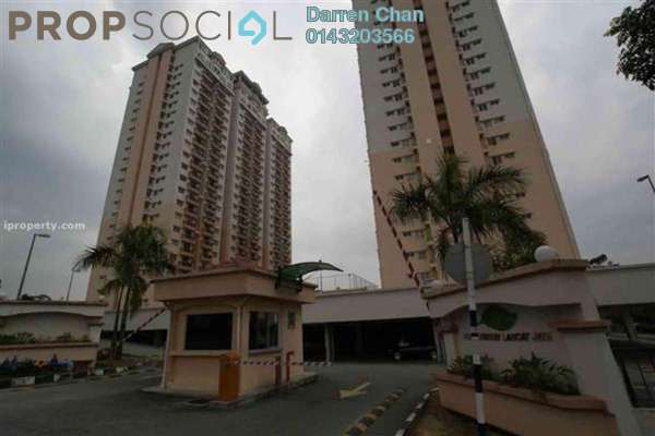 For Rent Condominium at Langat Jaya, Batu 9 Cheras Freehold Unfurnished 3R/2B 1.1k