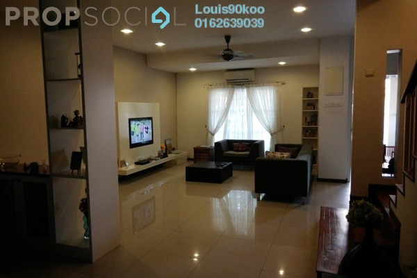 For Sale Terrace at Ametis Terraces, Bandar Bukit Puchong Freehold Fully Furnished 3R/3B 950k
