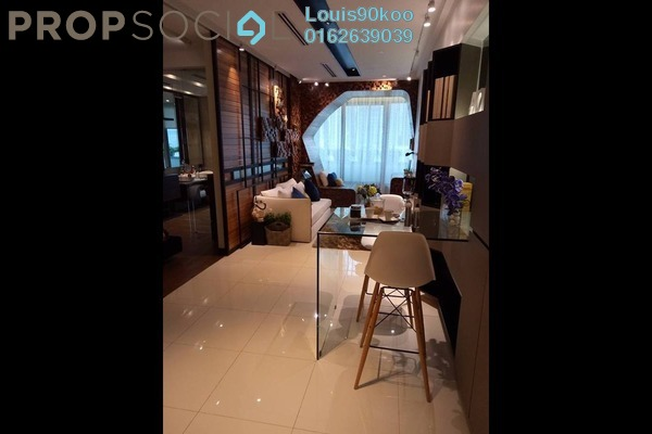 For Sale Serviced Residence at NOVO Ampang, Ampang Hilir Freehold Fully Furnished 1R/1B 1.13m