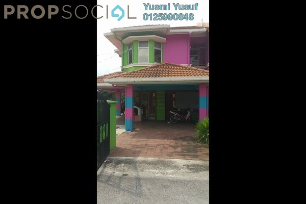 For Sale Terrace at Section 24, Shah Alam Leasehold Semi Furnished 4R/3B 930k
