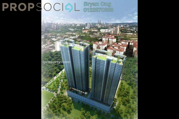 For Sale Condominium at The Elements, Ampang Hilir Freehold Semi Furnished 2R/2B 800k