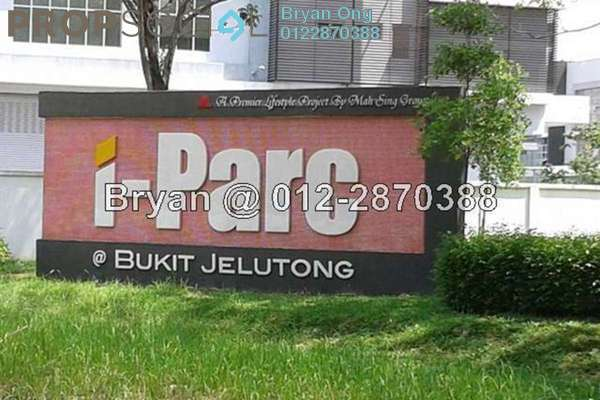 For Sale Factory at i-Parc1, Bukit Jelutong Freehold Fully Furnished 0R/0B 4.38m
