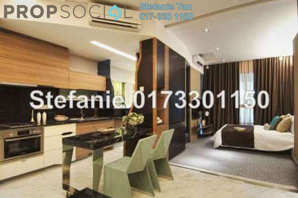 For Sale SoHo/Studio at VERVE Suites, Mont Kiara Freehold Fully Furnished 1R/1B 750k