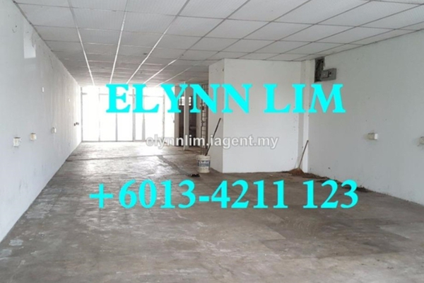 For Rent Shop at Taman Inderawasih, Seberang Jaya Leasehold Unfurnished 0R/2B 1.0千
