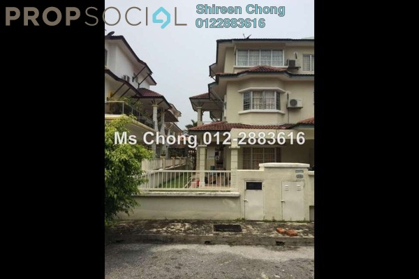 For Sale Terrace at Fadason Park, Jinjang Leasehold Semi Furnished 5R/4B 1.3m