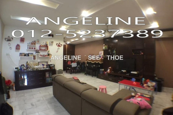 For Sale Terrace at Taman Bagan Lalang, Butterworth Freehold Semi Furnished 3R/3B 688k