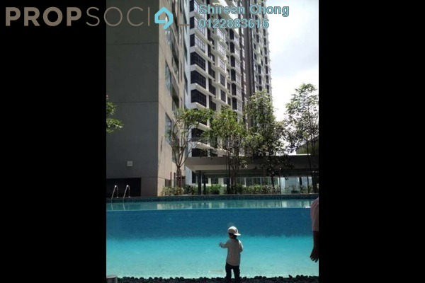 For Rent SoHo/Studio at Summer Suites, KLCC Leasehold Semi Furnished 0R/1B 3.9k