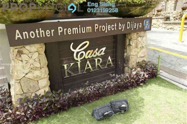 For Rent Condominium at Casa Kiara I, Mont Kiara Freehold Fully Furnished 3R/3B 2.8k