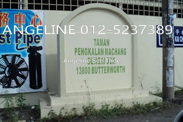 For Sale Terrace at Taman Pengkalan Machang, Sungai Dua Freehold Unfurnished 4R/3B 680k