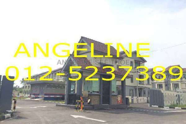 For Sale Terrace at Central Way, Bukit Mertajam Freehold Semi Furnished 3R/4B 550k