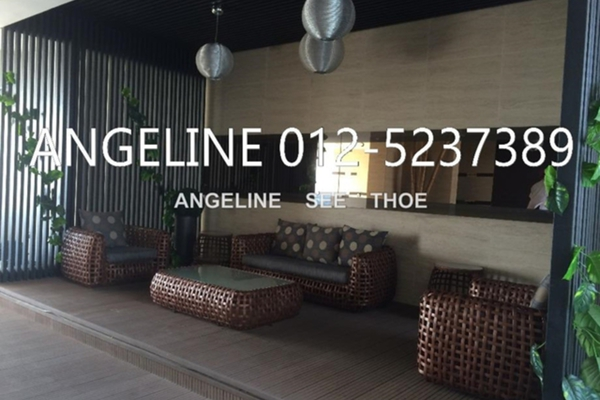 For Rent Condominium at The Signature, Perai Freehold Semi Furnished 3R/2B 1.5k