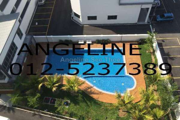For Rent Condominium at Tanjung Heights, Butterworth Freehold Semi Furnished 3R/2B 950translationmissing:en.pricing.unit