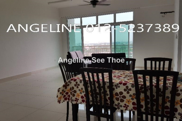 For Rent Condominium at K Residence, Seberang Jaya Freehold Semi Furnished 3R/2B 1.25k