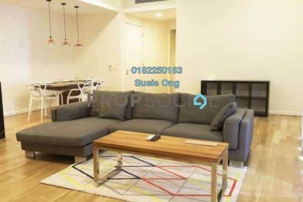 For Rent Condominium at St Mary Residences, KLCC Freehold Fully Furnished 2R/3B 7k