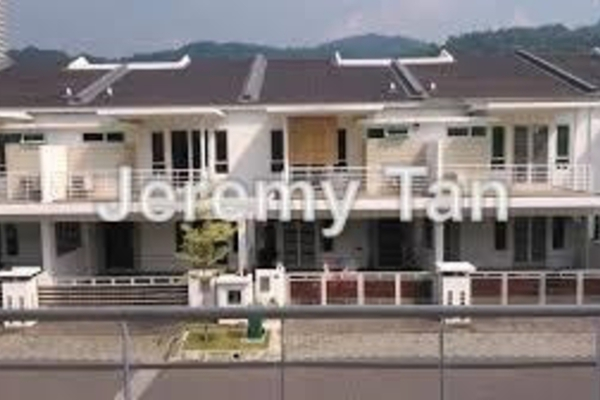For Rent Terrace at Sathu Terraces, Sungai Ara Leasehold Fully Furnished 3R/2B 2.1k