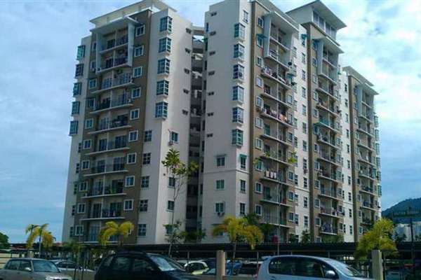 For Rent Apartment at Idaman Lavender, Sungai Ara Leasehold Unfurnished 3R/2B 800translationmissing:en.pricing.unit