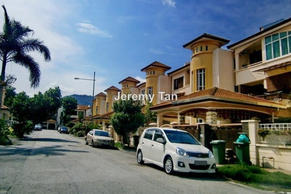 For Rent Semi-Detached at Hill View Garden, Tanjung Bungah Leasehold Semi Furnished 3R/2B 2.2k