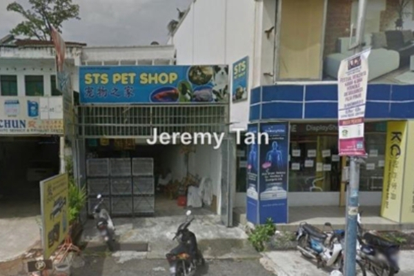 For Rent Shop at Jalan Air Itam, Air Itam Leasehold Unfurnished 0R/0B 2.1k