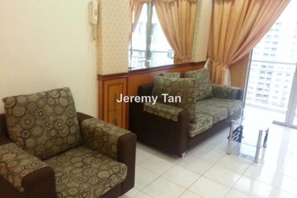 For Rent Condominium at Villa Emas, Bayan Indah Leasehold Fully Furnished 3R/1B 1.3k